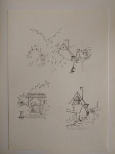 模写水彩ペン画1-03